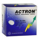 ACTRON, comprimé effervescent à Bordeaux