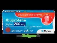 Ibuprofene Mylan 200 Mg, Comprimé Enrobé à Bordeaux