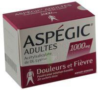Aspegic Adultes 1000 Mg, Poudre Pour Solution Buvable En Sachet-dose 15 à Bordeaux