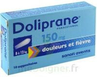 Doliprane 150 Mg Suppositoires 2plq/5 (10) à Bordeaux