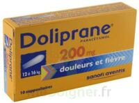 Doliprane 200 Mg Suppositoires 2plq/5 (10) à Bordeaux