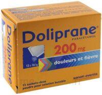 Doliprane 200 Mg Poudre Pour Solution Buvable En Sachet-dose B/12 à Bordeaux