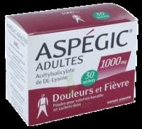 ASPEGIC ADULTES 1000 mg, poudre pour solution buvable en sachet-dose 30 à Bordeaux