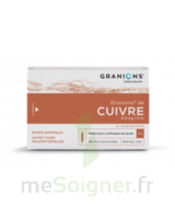 Granions De Cuivre 0,3 Mg/2 Ml S Buv 30amp/2ml à Bordeaux
