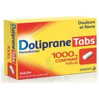 Dolipranetabs 1000 Mg Comprimés Pelliculés Plq/8 à Bordeaux