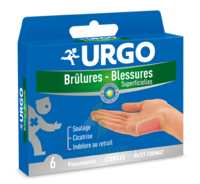 URGO BRULURES-BLESSURES x 6 à Bordeaux