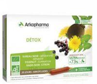 Arkofluide Bio Ultraextract Solution Buvable Détox 20 Ampoules/10ml à Bordeaux