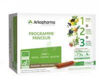 Arkofluide Bio Ultraextract Coffret Programme Minceur 3x10 Ampoules/10ml à Bordeaux