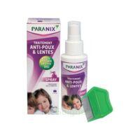 Paranix Solution antipoux Huiles essentielles 100ml+peigne à Bordeaux