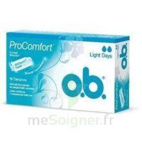 Ob Pro Comfort, Light Flow , Bt 16 à Bordeaux