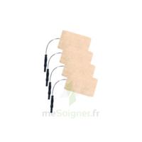 Stimex Electrode Rectangulaire électrostimulation 50x90mm B/4 à Bordeaux
