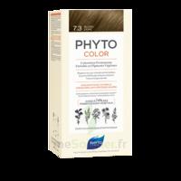 Phytocolor Kit Coloration Permanente 7.3 Blond Doré à Bordeaux