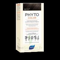 Phytocolor Kit Coloration Permanente 5 Châtain Clair à Bordeaux
