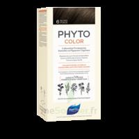 Phytocolor Kit Coloration Permanente 6 Blond Foncé à Bordeaux