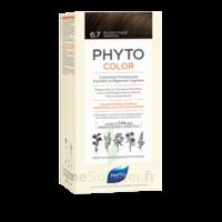 Phytocolor Kit Coloration Permanente 6.7 Blond Foncé Marron à Bordeaux