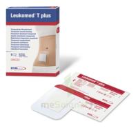 Leukomed T Plus Pansement Adhésif Stérile Avec Compresse Transparent 5x7,2cm B/5 à Bordeaux