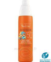 Avène Eau Thermale Solaire Spray Enfant 50+ 200ml à Bordeaux