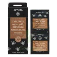 Apivita - Express Beauty Masque Visage Raffermissant & Revitalisant - Gelée Royale  2x8ml à Bordeaux