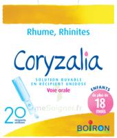 Boiron Coryzalia Solution Buvable Unidose B/20 à Bordeaux