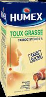 Humex 5 % Solution Buvable Expectorant Sans Sucre Adulte Fl/250ml à Bordeaux