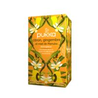 Pukka Bio Citron, Gingembre Et Miel De Manuka Tisane Immunité Citron Gingembre Miel De Manuka 20 Sachets à Bordeaux